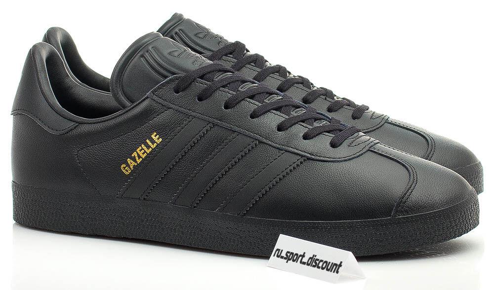 e9f48ece658303 100% 100% 100% authentic Adidas Originals Gazelle Core Black Leather (art.  BB5497) 5dd43c