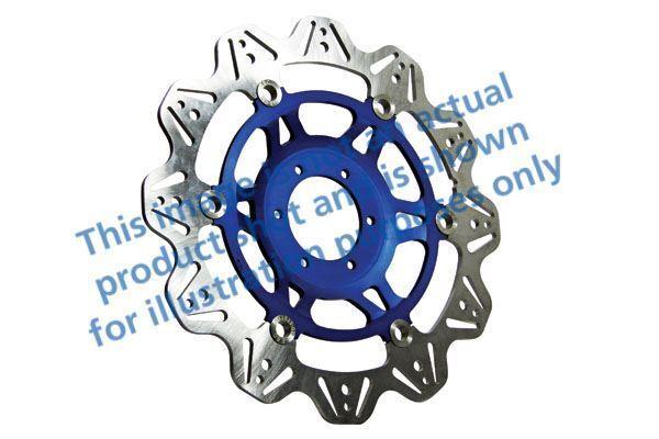 FIT DUCATI Monster 1000 S ie (992cc 03>05 EBC VR Brake Disc Blue Hub Front Left