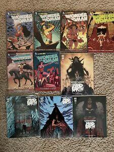 TBP-Graphic-Novel-Lot-Woman-Vol-New-52-Omnibus-Dead-Earth-Vol-1-2-3-4-5-6