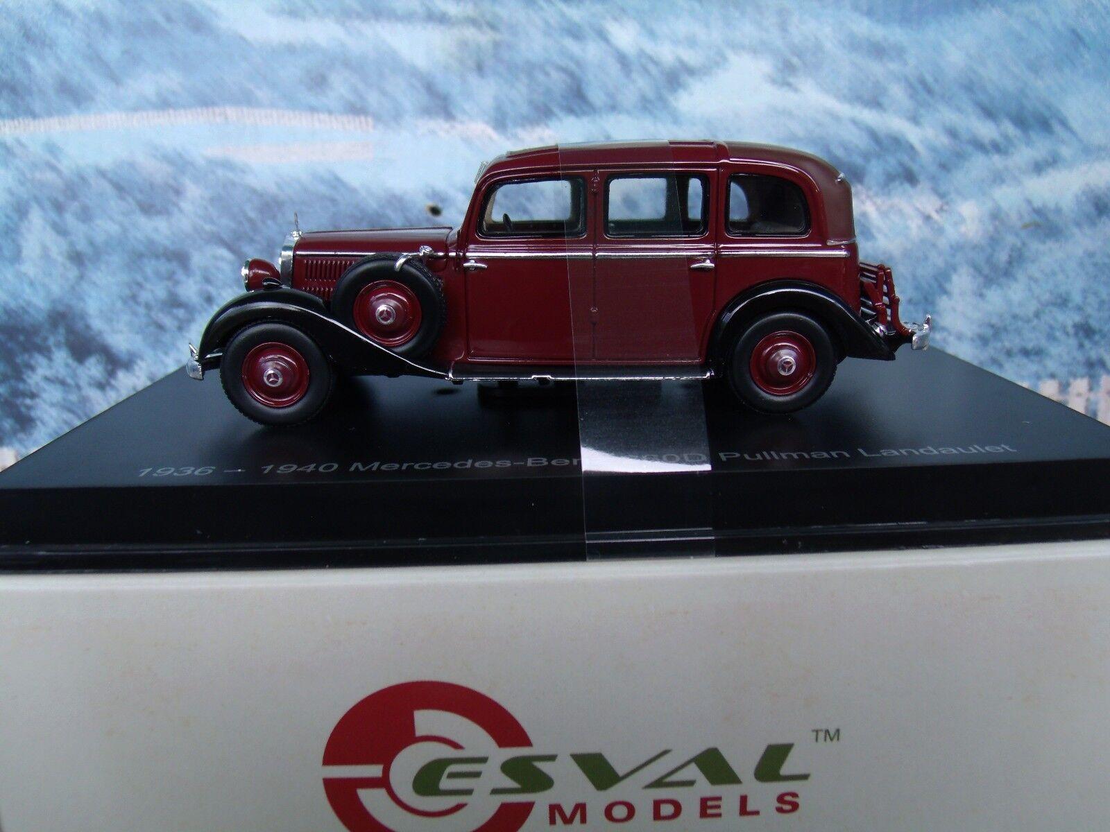 1 43 Esval Modelos 1936-40 Mercedes 260d Pullman Landaulet