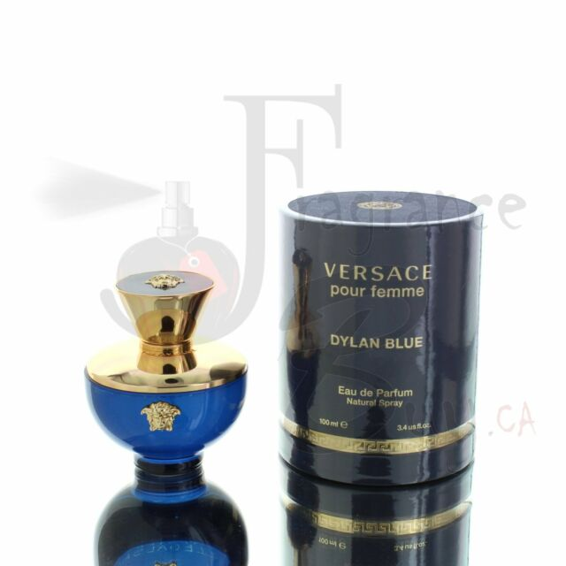 Versace Pour Femme Dylan Blue EDP W 100ml Boxed