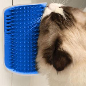 Neue-Haustier-Katze-Self-Groomer-Wand-Ecke-Massage-Kamm-Kaetzchen-Grooming-Pinsel