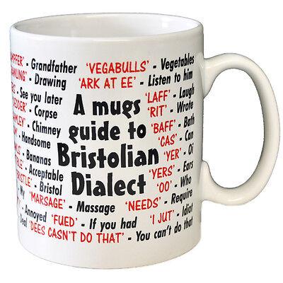 Dorset Dialect Coffee Idea Gift // Secret Santa Joke Tea Mug