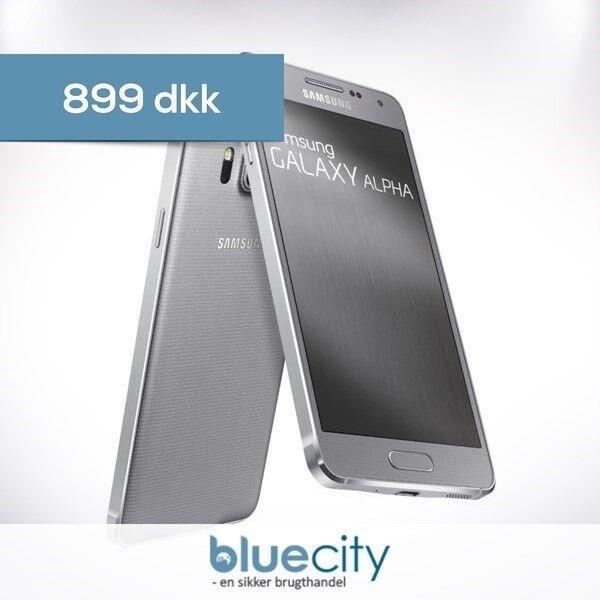 Samsung Samsung Galaxy Alpha 32GB Sølv, Samsung Galaxy