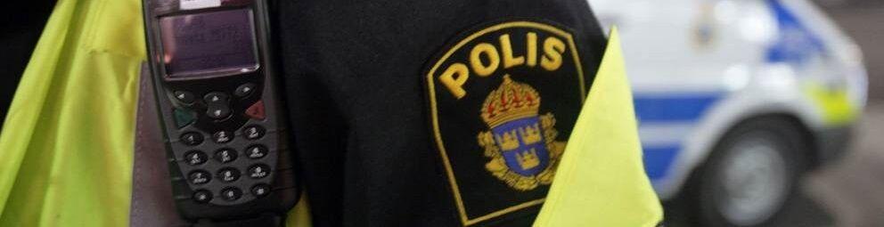 """9/"""" BACK INSIGNIA SWEDEN SWEDISH POLISEN POLIS PIKETEN PIKETENHETEN vel©®Ø SWAT"""