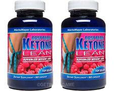 X 2 BTL RASPBERRY KETONE LEAN BEST #1 MARITZMAYER Fat Weight Loss 1200 mg 60 Cap