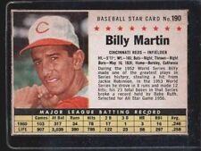 1953 Bowman 118 Billy Martin Yankees Vg For Sale Online Ebay