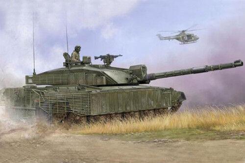 01522 Trumpeter 1 35 Model Challenger 2 Main Battle Tank Fence Armored Car Kit