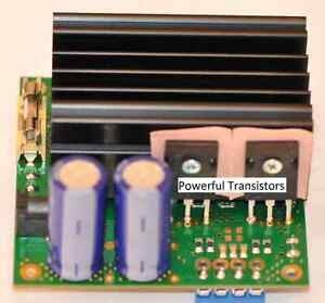 Fertigmodul 24V SSTC Treiber Solid State Tesla Coil Teslaspule Teslatrafo