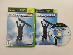 Amped Freestyle Snowboarding Original Xbox Game Complete Tested Free S H 659556745042 Ebay