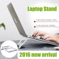 Portable Foldable Laptop/macbook/tablet/ipad Pro Aluminum Stand/mount-silver