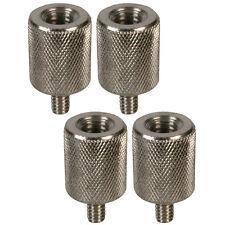 "Microphone Mic Camera Tripod Stand 3/8"" to 1/4"" Thread Adaptor Converter x 4"