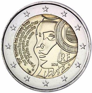 Frankreich 2 Euro Münze Föderationsfest 2015 Prägefrisch Gedenkmünze