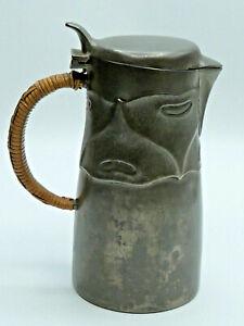 Krug Zinn Jugendstil Liberty & Co Tudric ARCHIBALD KNOX Arts & Crafts Pewter Jug