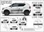 Zierleisten Seitenschutzleisten Schutzleisten passend für Suzuki Ignis III
