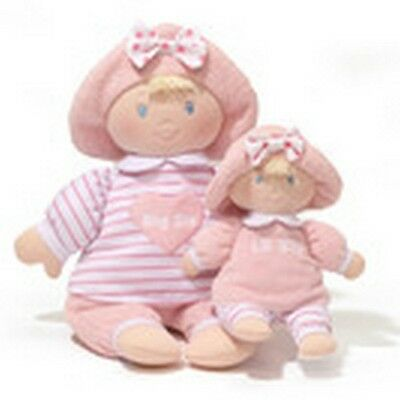 """BABY GUND -  SWEET DOLLY - 12""""  BIG SIS  AND LITTLE SIS DOLL  - SISTERS"""