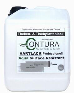 Grundierung Thekenlack Klarlack Matt 18,6€L Möbel Treppen Lack Hartlack Tisch