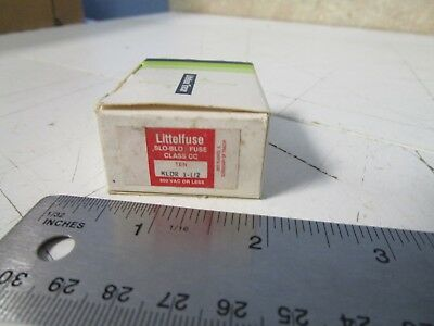 Littelfuse KLDR-1 Slo-Blo 1-AMP Fuse Pack of 5