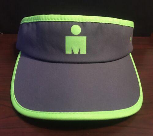 Boco Ironman M-dot High Visibility Visor Grey//Green Running Triathlon NWT