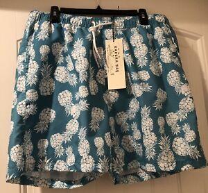 Men-039-s-Swim-Shorts-Kahuna-Bay-Size-XL