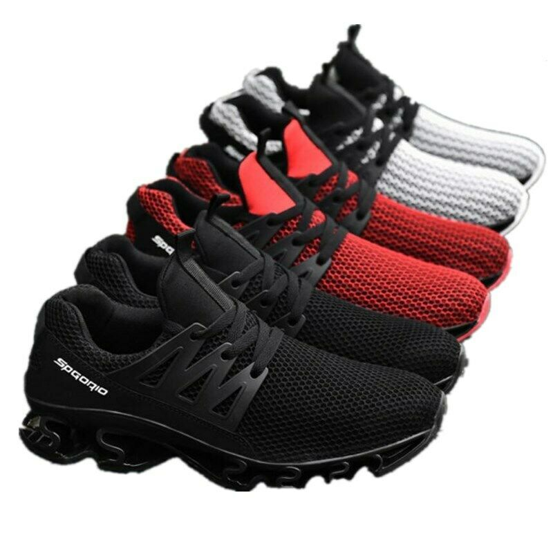 79048e6a3 Comfortable Men Breathable Running Walking Sports Casual shoes Outdoor Plus  Size