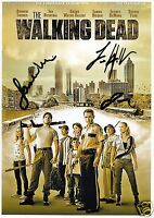THE WALKING DEAD CAST AUTOGRAPH SIGNED PP PHOTO POSTER