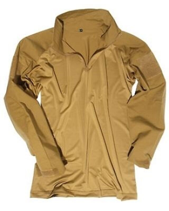 Tactical Campo Camicia Camicia Shirt COYOTE TAN XL/Xlarge