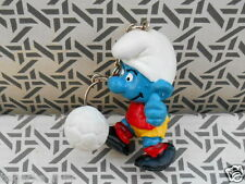 porte cle schtroumpf FOOT  schtroumpfette smurf puffi puffo pitufo germany
