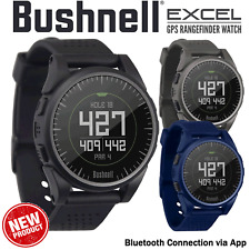 BUSHNELL NEO EXCEL GOLF WATCH RANGEFINDER BLUETOOTH GPS GOLF WATCH NEW LTD STOCK