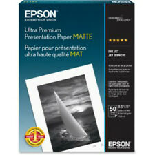 Epson Ultra Premium Presentation Paper Matte 8.5x11 Inches 50 Sheets S041341