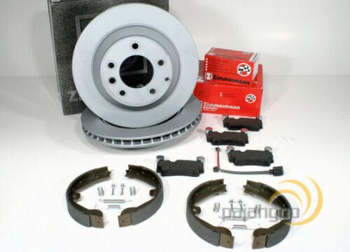 Zimmermann Bremsen Set Handbremse Zubehör für hinten VW Touareg 7L