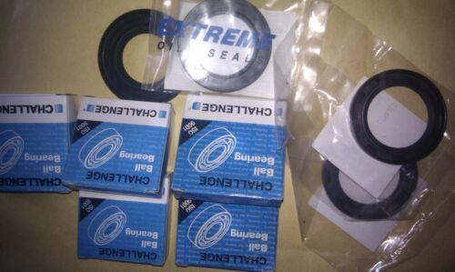 Yamaha RD350LC wheel and sprocket bearings /& seals kit front /& rear rd350 4L0