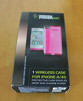 Duracell Powermat, 1 Wireless Case For Iphone 4/4s Pink