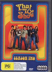 THAT-70-039-S-SHOW-SEASON-TWO-4-DVD-SET-R4-LIKE-NEW-FREE-POST
