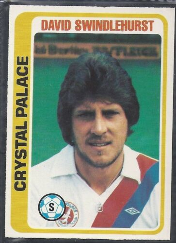TOPPS-FOOTBALL PALE BLUE BACK 1979 -#364- CRYSTAL PALACE DAVID SWINDLEHURST