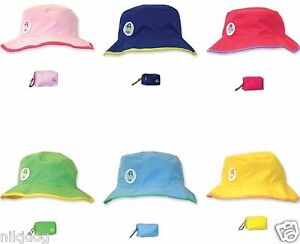 Image is loading Floppy-Hat-Reversible-Kids-Compact-Pouch-Floppy-Tops- ed96746d758