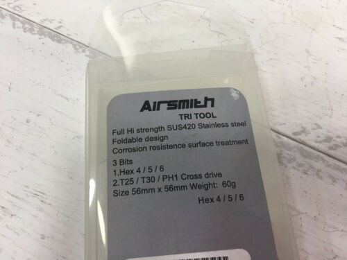 Airsmith Full Stainless Tri Tool