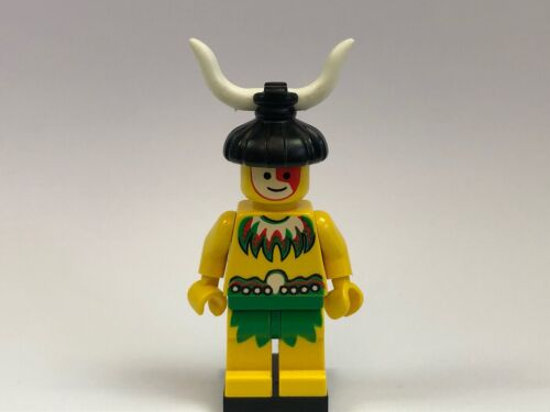 Lego Pirates Male Native Islander Minifigure from sets 6278 6292 6262 1788