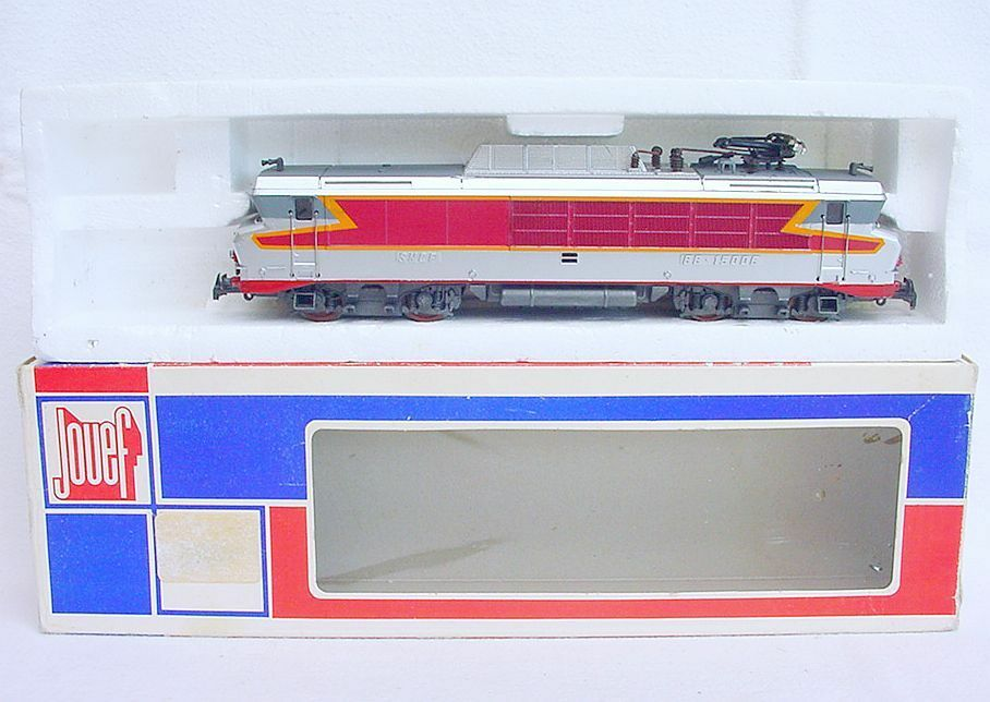 Jouef HO SNCF French BB 15006 GRAND CONFORT ELECTRIC LOCOMOTIVE 8345 MIB`80 RARE