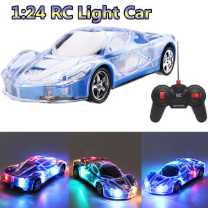 4D-Electrico-RC-Camion-Truck-Coche-Radio-Remoto-Control-Juguete-LED-Off-Road-Kid