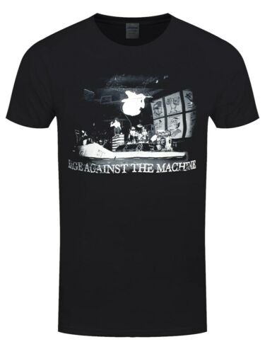 Rage against the machine RATM T-Shirt Live Jump Homme Noir