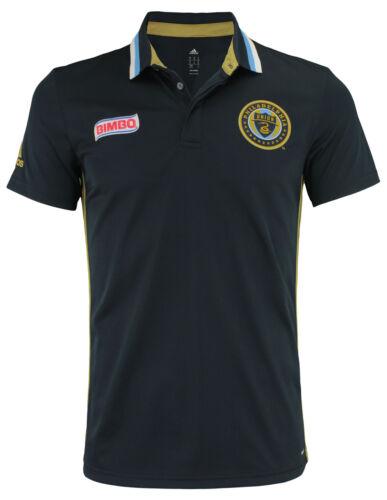 Navy adidas MLS Men/'s Philadelphia Union Climalite Authentic Team Polo