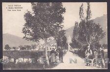 VERBANIA SANTA MARIA MAGGIORE 99 Viale verso Crana VAL VIGEZZO Cartolina v. 1908