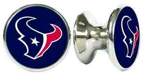 Image is loading HOUSTON-TEXANS-NFL-DRAWER-PULLS-CABINET-KNOBS  sc 1 st  eBay & HOUSTON TEXANS NFL DRAWER PULLS / CABINET KNOBS | eBay