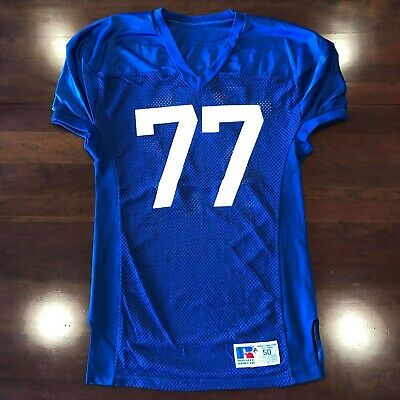 reputable site a7204 bec2f KENTUCKY WILDCATS PRACTICE RUSSELL ATHLETIC FOOTBALL JERSEY #77 | eBay