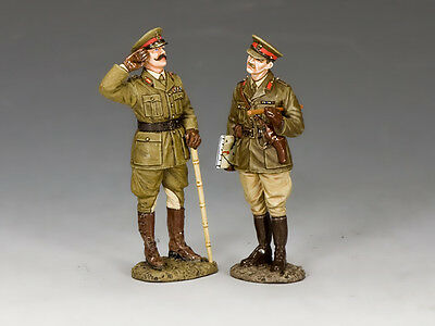 FW228 General Melchett & Captain Darling by King and Country (RETIRED) | eBay
