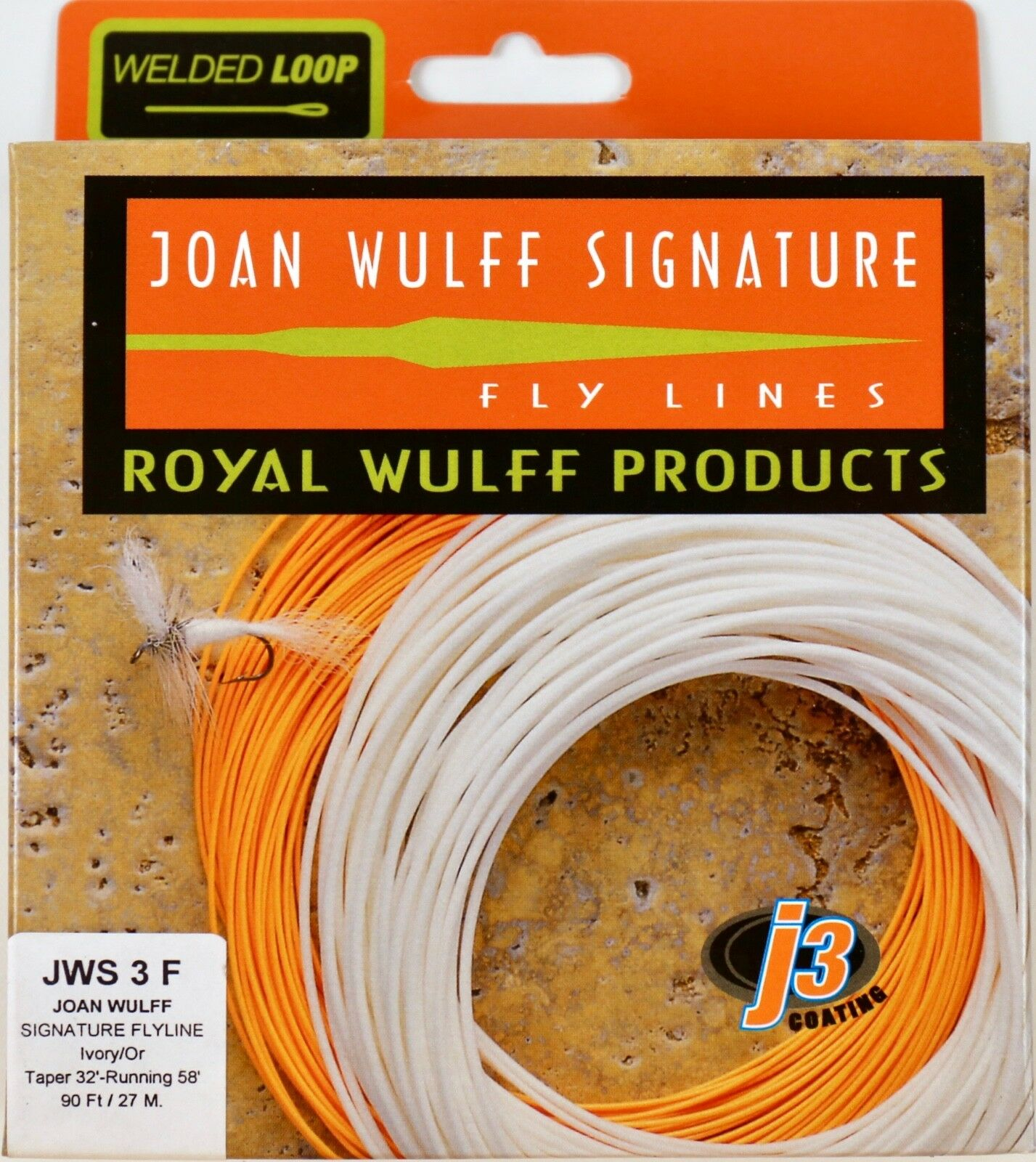 Royal Wulff Joan Wulff Signature 3 WT Floating Fly Line Free Shipping JWS3F