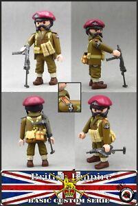 Playmobil-Custom-WW2-BRITISH-PARATROOPER-2-GUERRA-MUNDIAL-SOLDADO-INGLES-ARMAS