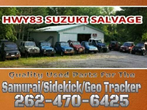 2 DOOR MODEL 89-98 SUZUKI SIDEKICK GEO TRACKER  DOOR LOCK LATCH MECHANISM