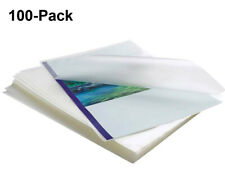 100 Pack Clear Thermal Laminating Pouches 9x115 Sheets 3 Mil Thick Letter Size